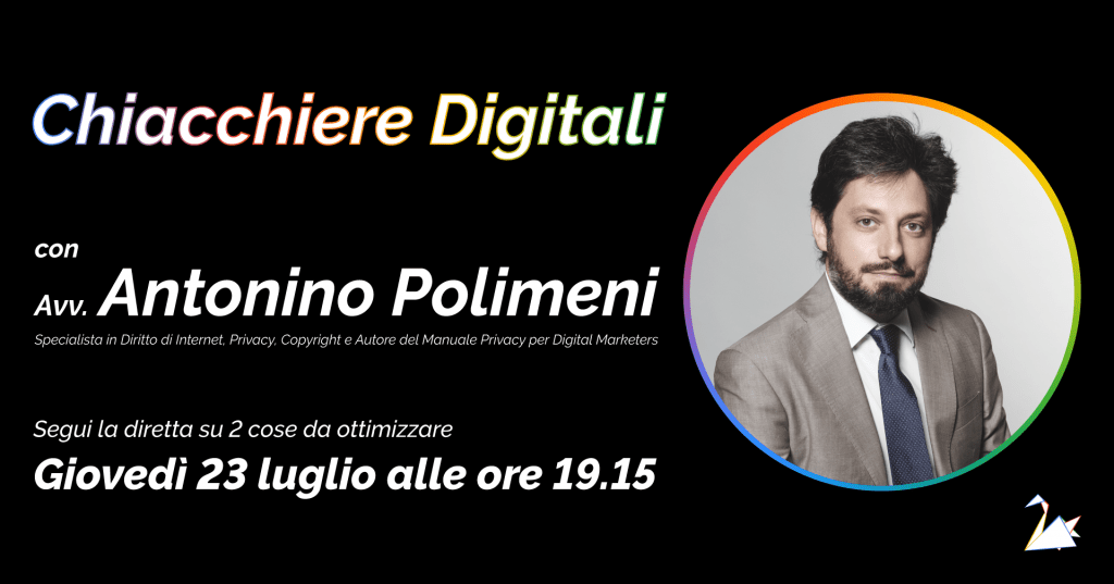 Intervista all'Avv. Antonino Polimeni: Specialista in Diritto di Internet, Privacy e Copyright